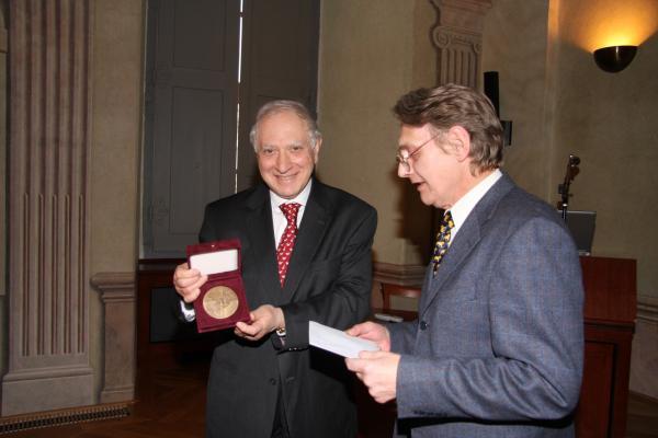 Commemorative Medal, Charles University, Prague, Czech Republic - 2008