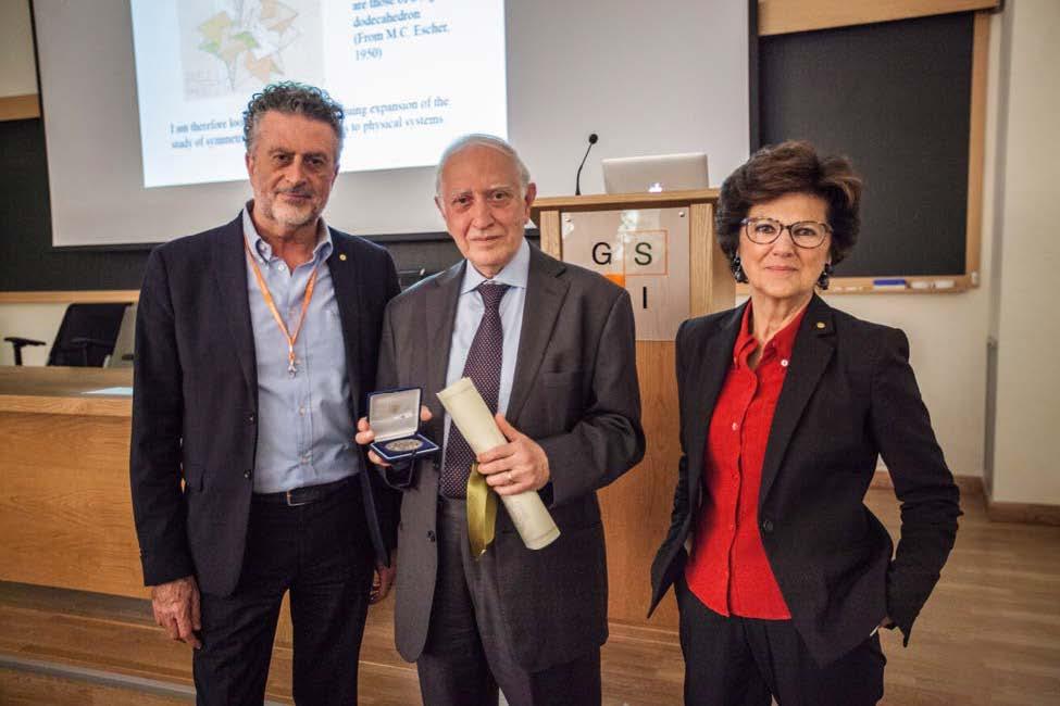 Honorary Fellow, Italian Physical Society, 2017