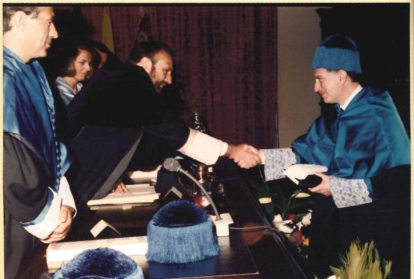 Honorary Doctorate, Sevilla, Spain - 1993